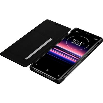 Sony Xperia 5 Style Cover Leather fodral SCLJ10 - Skal och