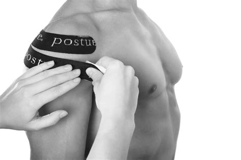 Kinesio Tape Pre Cut Provides Support To Upper & Shoulders