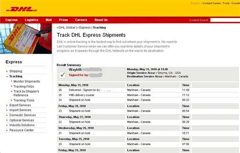 Dhl freight tracking | Liikenne Suomessa