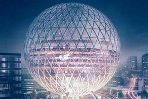 Incredible giant 'Golf Ball' could transform east London's