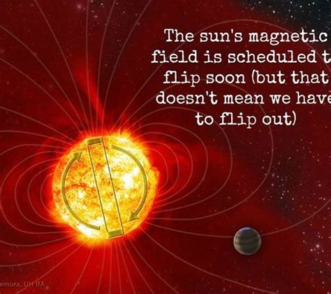 The Sun's Magnetic Field is Expected to Flip Soon