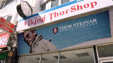 Inside Thor Steinar: London outfitter to the extreme right