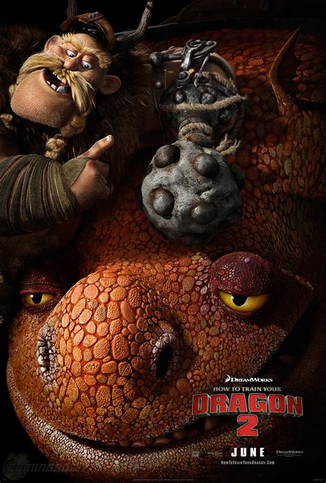 New 'How to Train Your Dragon 2′ Trailer Preview and Poster