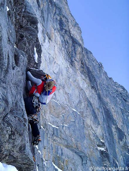Philippe Gatta - North Face of the Eiger