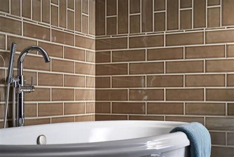 Buy Artisan Taupe Glazed 4x12 Handcrafted   Subway Tile