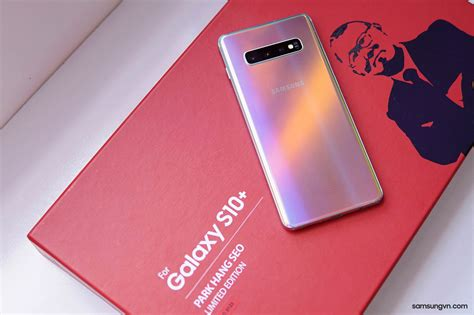 The Samsung Galaxy S10+ Prism Silver edition is headed to