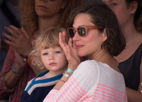 Marion Cotillard Guillaume Canet with Marcel in Monaco at
