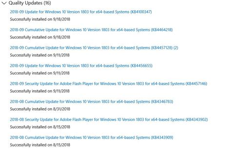 After a Windows 10 Update Today Overclocking is lost