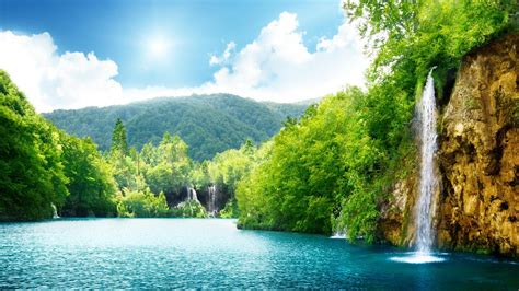 nature, Landscape, Waterfall Wallpapers HD / Desktop and