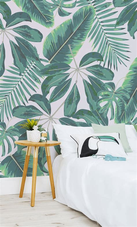Stay On Trend with these Tropical Wallpapers | Murals