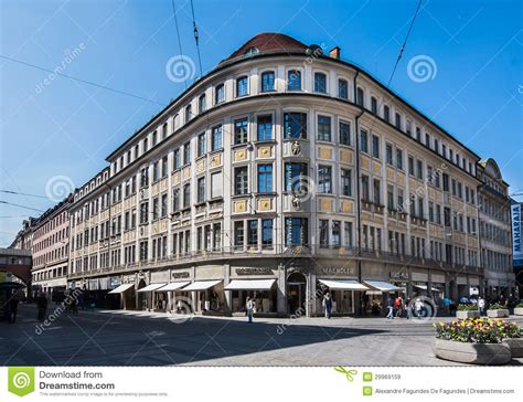 Historical Building Munich Germany Editorial Stock Image