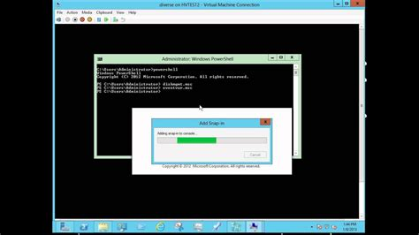 Windows Server 2012 - from server core, to minimal, to