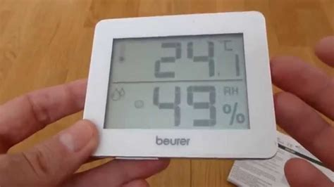 Beurer HM 16 Thermometer and Hygrometer