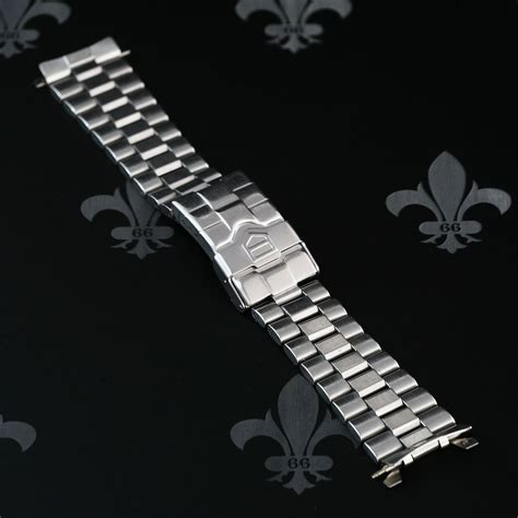 TAG HEUER 20mm Stainless Steel Watch Strap Band Bracelet