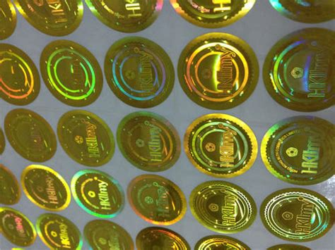 Hologram Stickers - Holographic Stickers Manufacturer from