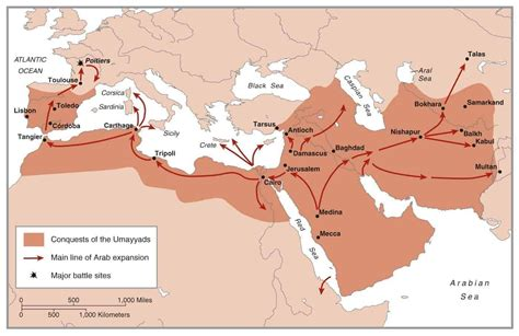Six Times the Islamic Empire Was Nearly Torn Apart