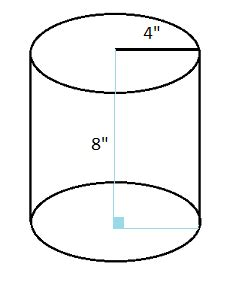 Finding the Area of a Cylinder: Formula & Example - Video