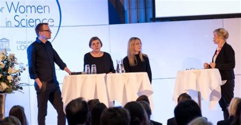 Who run the world? Årets For Women in Science-pristagare