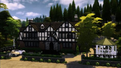 The Sims 4: Tudor Mansion [download] - YouTube
