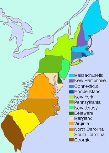 Battles of the 13 colonies