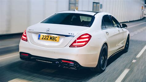 Mercedes-AMG S63 L (2018) review: a brute in a sharp suit