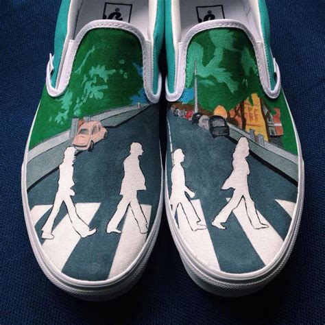 Artist Hand-Paints Shoes With Calvin And Hobbes, Pink