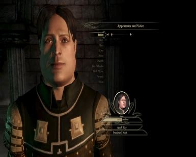 Human Chubby Face Preset at Dragon Age: Origins - mods and