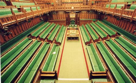 House of Commons Chamber - elevated view   The House of