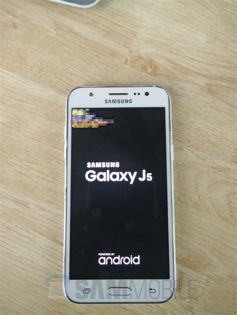 Samsung Galaxy J5 Leaks in Live Pictures
