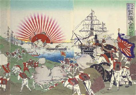 JAPANESE WAR PRINTS -- FIRST SINO-JAPANESE CONFLICT, 1894