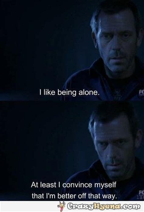 Funny Quotes Being Alone