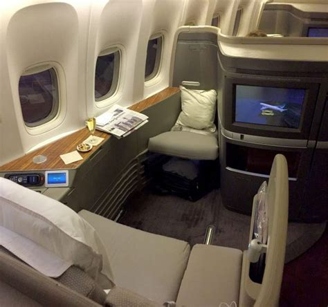 Flight Review: Cathay Pacific First Class, L