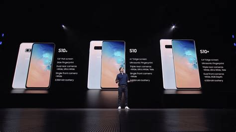 Samsung Galaxy S10 Plus Announced: Specs, Price and Release