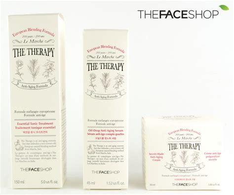 THEFACESHOP: THE THERAPY Essential Tonic Treatment, Oil