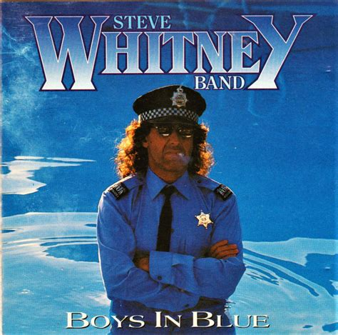 Steve Whitney Band - Boys In Blue (1992, CD) | Discogs