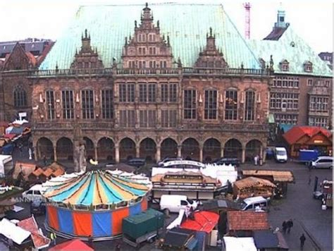 Live Bremen Town Square City Centre Weather Cam,Germany