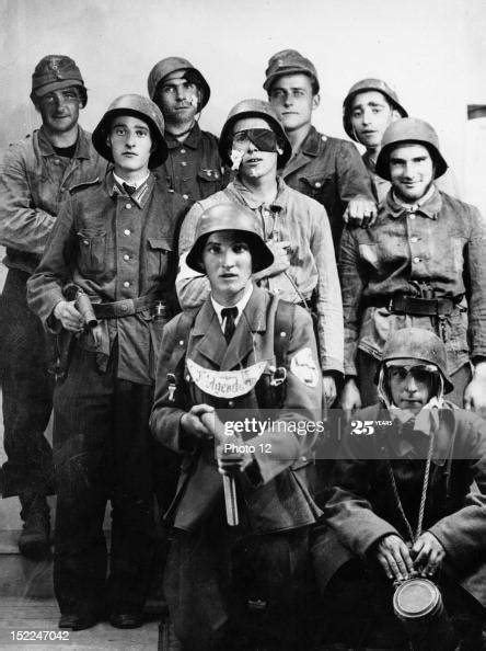 German troops, members of the SS Division 'Das Reich', who