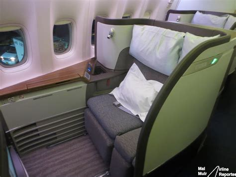 Reviewing Cathay Pacific's First Class - The Best Trans