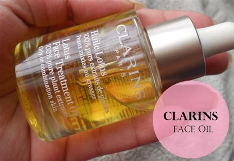 Clarins Face Treatment Oil Lotus Combination/Oily Skin